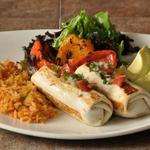 BURRITOS Oven fresh flour tortillas hand rolled and folded around traditional flavorful fillings like ground beef, grilled chicken, shredded pork, pinto beans, fresh vegetables and cheeses.
